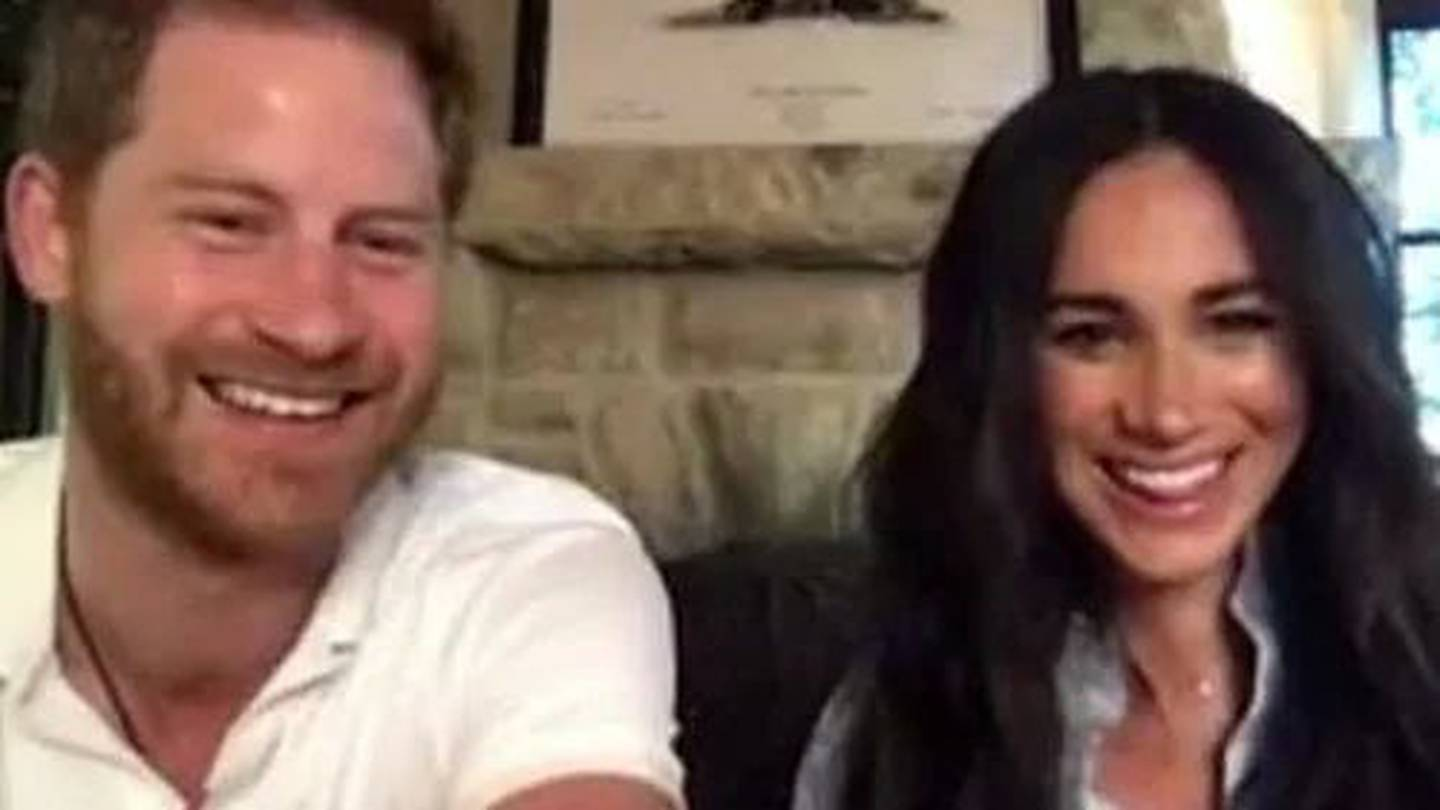 Harry and Meghan surprise poetry students with Zoom appearance